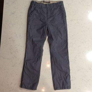 GapKids Boys Blue Gray Pants